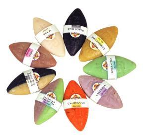 Σαπούνια από Ταϋλανδ�ζικο ρυζ�λαιο σε πανδαισία χρωμάτων κι αρωμάτων
